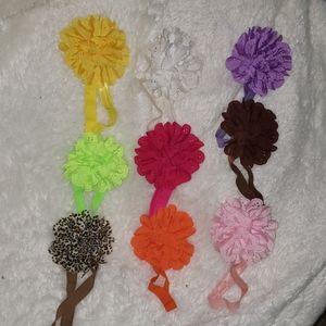 Girls headband flowers